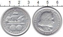 Изображение Монеты США 1/2 доллара 1893 Серебро VF
