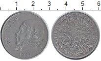 Изображение Монеты Мексика 1 песо 1981 Медно-никель XF
