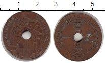 Изображение Монеты Индокитай 1 цент 1938 Медь XF Французский протекто