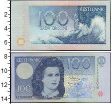 Изображение Банкноты Эстония 100 крон 0  XF