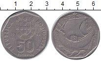 Изображение Монеты Португалия 50 эскудо 1986 Медно-никель XF