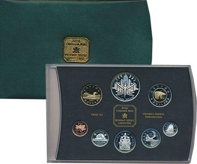 Изображение Подарочные монеты Канада Набор 2000 года 2000  Proof В набор входят монет