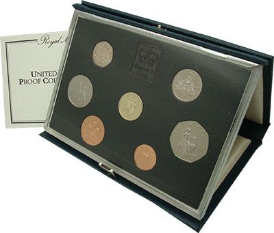 Изображение Подарочные наборы Великобритания Набор 1988 года 1988  Proof В набор входят монет