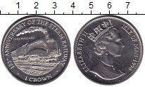 Изображение Монеты Остров Мэн 1 крона 1998 Медно-никель UNC