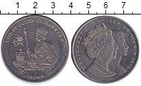 Изображение Монеты Остров Мэн 1 крона 2012 Медно-никель UNC