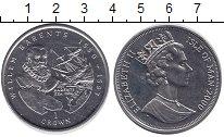 Изображение Монеты Остров Мэн 1 крона 2000 Медно-никель UNC Виллем Баренц