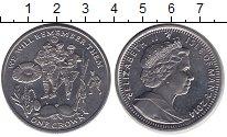 Изображение Монеты Остров Мэн 1 крона 2014 Медно-никель UNC