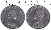 Изображение Монеты Остров Святой Елены 50 пенсов 1984 Медно-никель UNC Визит принца Эндрю