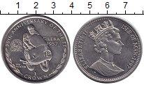 Изображение Монеты Остров Мэн 1 крона 1997 Медно-никель UNC 90 лет Королевским в
