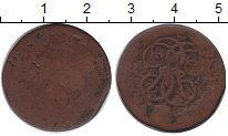 Изображение Монеты 1741 – 1761 Елизавета Петровна 1 копейка 1758 Медь