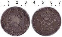 Изображение Монеты Франция 1/2 экю 1702 Серебро