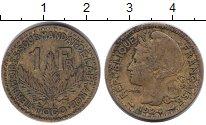 Изображение Монеты Того 1 франк 1924