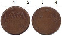 Изображение Монеты Нидерландская Индия 1 дьюит 1810