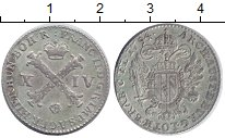 Изображение Монеты Нидерланды 14 лиард 1794 Серебро XF Австрийские Нидерлан
