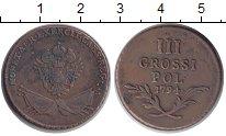 Изображение Монеты Польша 3 гроша 1794 Медь XF