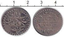 Изображение Монеты Алжир 1/4 буджу 1821 Серебро XF