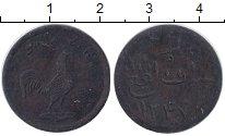 Изображение Монеты Малайя 1 кеппинг 1831 Медь VF Малака.Британская ад