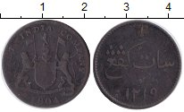 Изображение Монеты Нидерландская Индия 1 кеппинг 1804 Медь VF