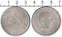 Изображение Монеты Испания 100 песет 1966 Серебро XF