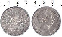 Изображение Монеты Бавария 1 талер 1861 Серебро XF+ Максимилиан II