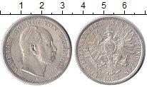 Изображение Монеты Пруссия 1 талер 1867 Серебро UNC-