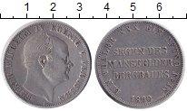 Изображение Монеты Пруссия 1 талер 1860 Серебро VF Фридрих Вильгельм IV