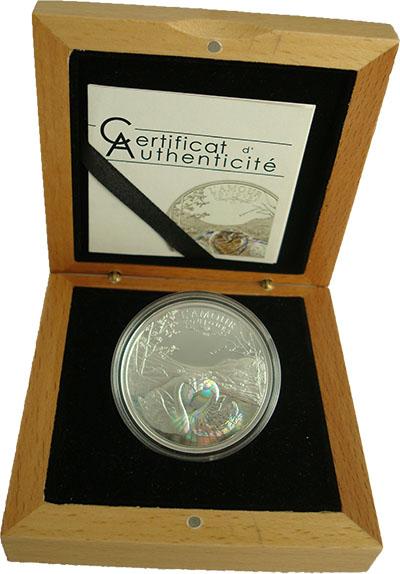 Изображение Подарочные наборы Камерун Любовь 2011 Серебро Proof На 1000-франковой мо