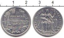 Изображение Монеты Полинезия 1 франк 2001 Алюминий XF