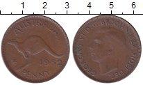 Изображение Мелочь Австралия 1 пенни 1938 Бронза XF Георг VI