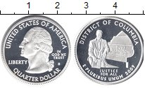 Изображение Монеты США 1/4 доллара 2009 Серебро Proof- Округ Колумбия.  S -