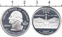 Изображение Монеты США 1/4 доллара 2007 Серебро Proof-