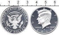Изображение Монеты США 1/2 доллара 2010 Серебро Proof-
