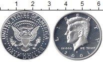 Изображение Монеты США 1/2 доллара 2001 Серебро Proof-