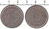 Изображение Монеты Марокко 10 франков 1947 Медь XF