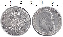 Изображение Монеты Бавария 2 марки 1911 Серебро XF+