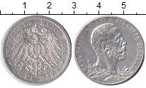 Шварцбург-Зондерхаузен 2 марки 1905 Серебро