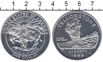 Изображение Монеты США 1 доллар 1999 Серебро Proof-