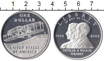 Изображение Монеты США 1 доллар 2003 Серебро Proof-