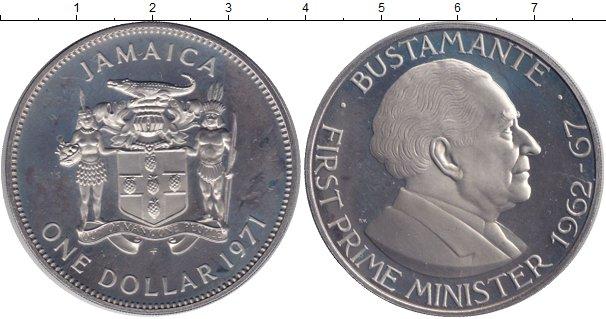 Картинка Монеты Ямайка 1 доллар Медно-никель 1971