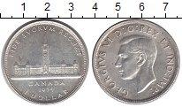 Изображение Монеты Канада 1 доллар 1939 Серебро XF