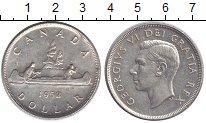 Изображение Монеты Канада 1 доллар 1952 Серебро XF