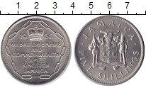 Изображение Монеты Ямайка 5 шиллингов 1966 Медно-никель XF
