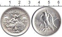 Изображение Монеты США 1/2 доллара 1935 Серебро UNC- Независимость Техаса