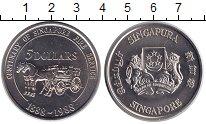 Изображение Монеты Сингапур 5 долларов 1988 Медно-никель UNC-