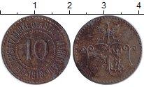 Изображение Монеты Польша 10 пфеннигов 1918 Железо XF