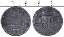 Изображение Монеты Польша 20 пфеннигов 1918 Железо XF