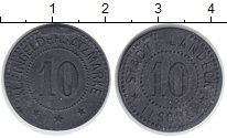 Изображение Монеты Польша 10 пфенигов 1918 Цинк XF