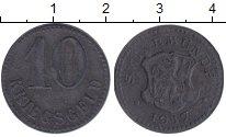 Изображение Монеты Польша 10 пфенигов 1917 Цинк XF
