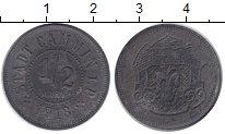 Изображение Монеты Польша 1/2 марки 1918 Цинк XF-