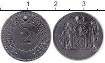Изображение Монеты Веймарская республика 2 пфеннига 1918 Железо UNC-